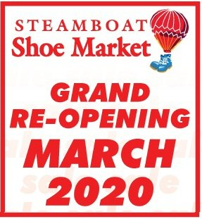 Steamboat Shoe Market - Reopening March 2020